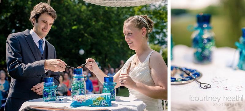 Unity Candle Ceremony Wedding Walpole New Hampshire