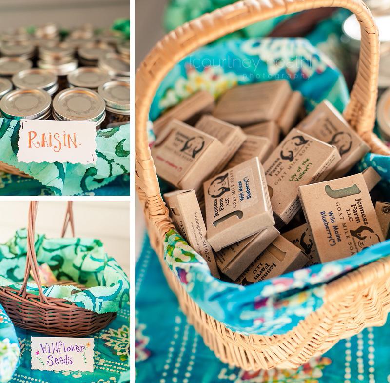 Walpole New Hampshire Wedding Favors Soap Granola in a Mason Jar Wildflower Seeds