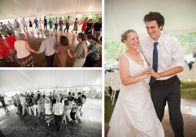 Wedding Contra Dancing Walpole New Hampshire