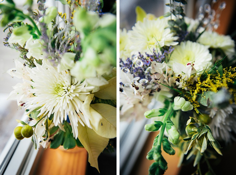 Beautiful winter wedding flowers