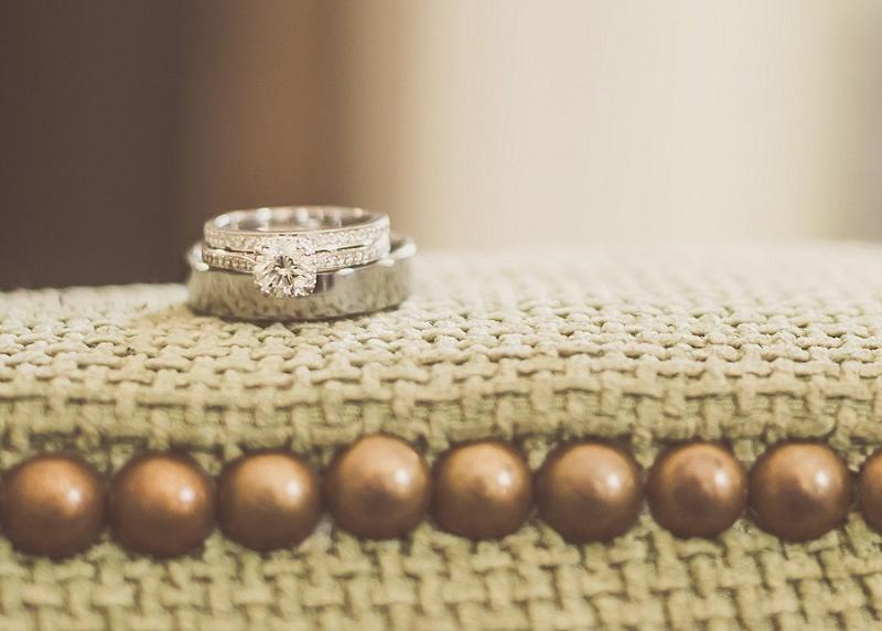 Wedding rings at Mount Washington Hotel