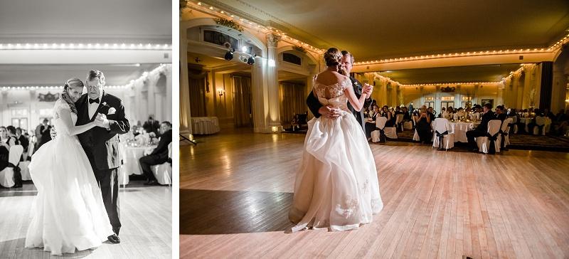 Bride and Father Dance Wedding Mount Washington Hotel Ballroom