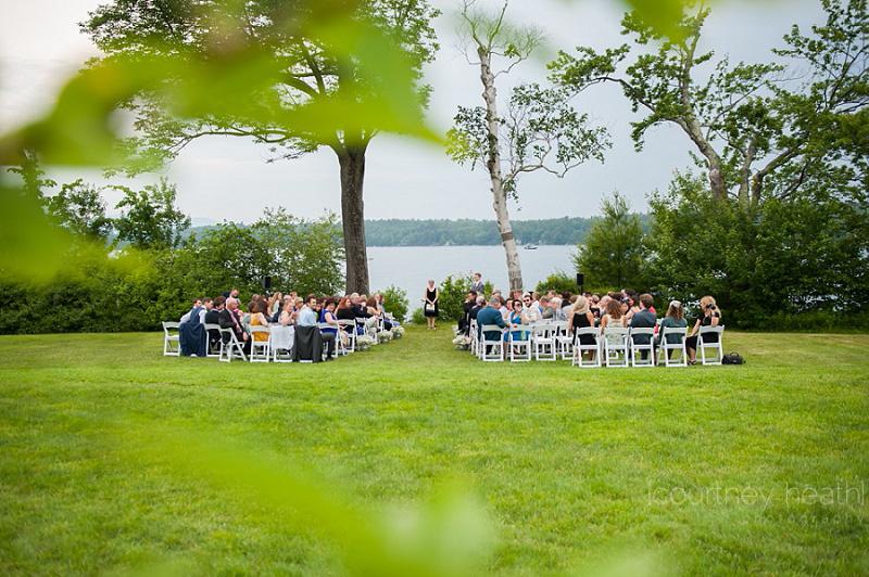 Wolfeboro NH Wedding Ceremony