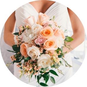 BrideHoldingBouquet