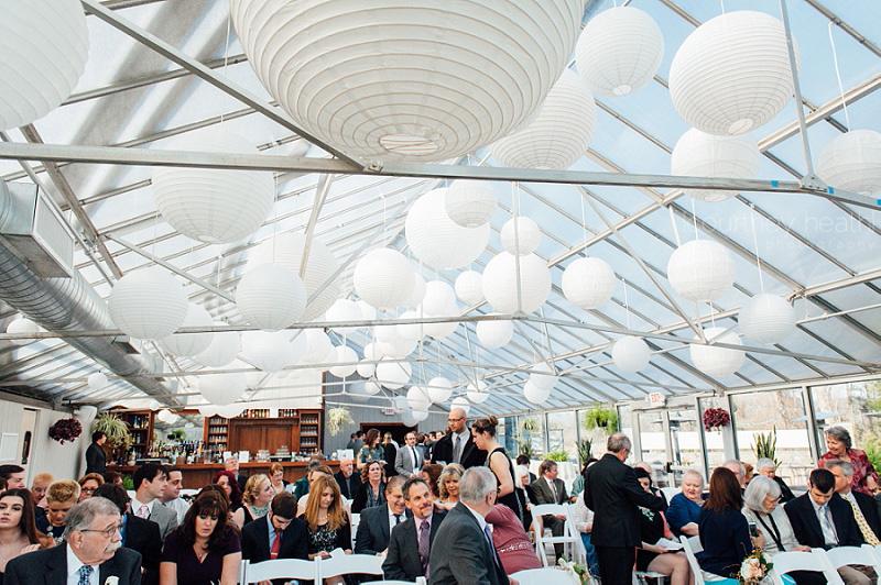 Farmington Gardens Greenhouse Wedding