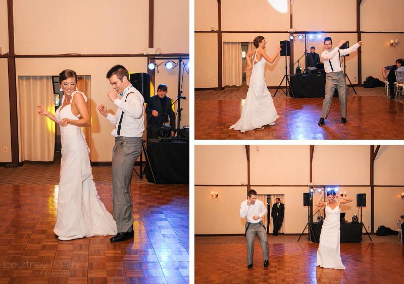 Surprise wedding dance bride and groom