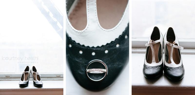 wedding saddle shoes