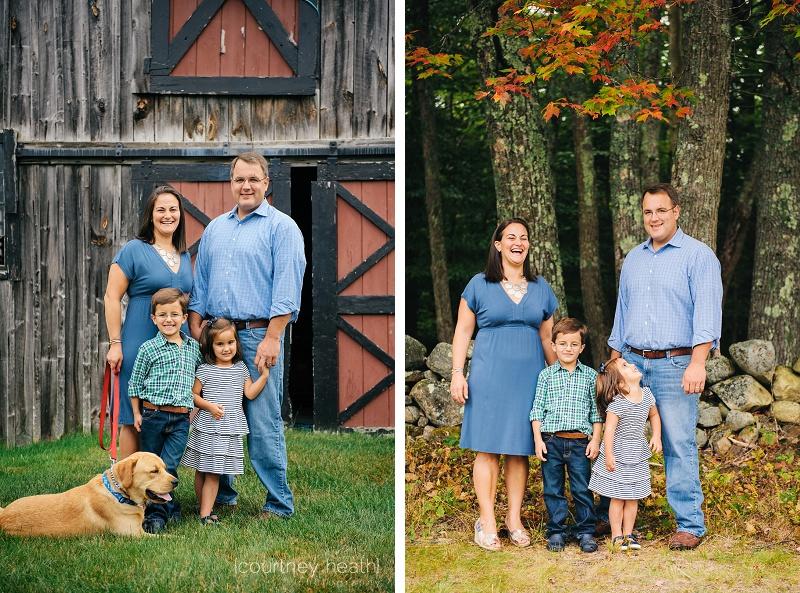 fall family portrait