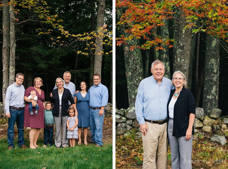 family fall portrait