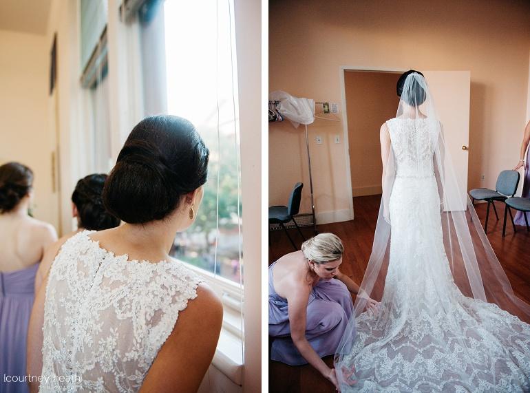 Bride in bridal suite at Cambridge Multicultural Arts Center Boston