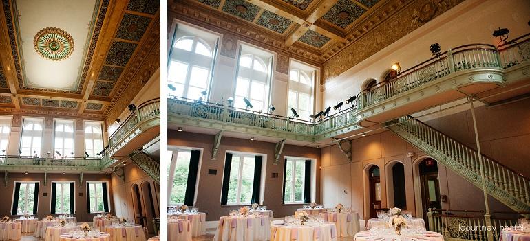 Inside Cambridge Multicultural Arts Center Boston's grand hall